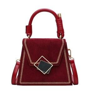 Image 5 - Kamień wzór PU Leather Crossbody torby dla kobiet 2020 jakości luksusowe proste torba na ramię kobiece małe torebki i portmonetki
