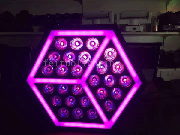 H- 4/lot high brightness par led 27*10W RGBW 4 in 1+ 54 pcs 5050 led chips colorful led par stage light dmx512