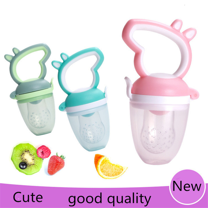 Baby Pacifier Fresh Food Fruit Milk Feeder Child Pacifier Safety Baby Products Pacifier Nipple Bottle Cartoon Animal Pacifier