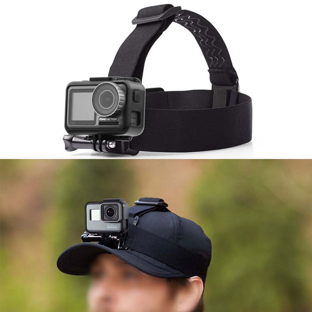 Belt Strap Practical Sports Adjustable Headband Lightweight Camera Accessories Nylon Anti-slip Surfing For DJI Osmo Action image