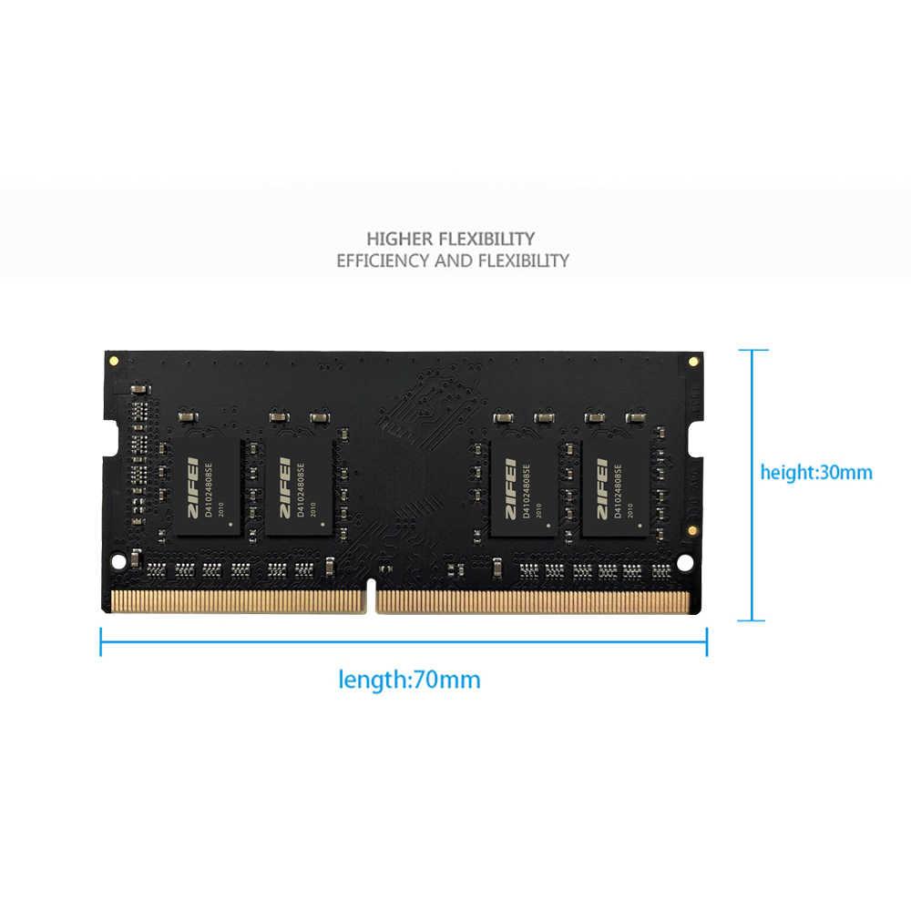 ZIFEI DDR4 8GB 4GB 16GB 32GB 2133 2400 2666 MHz so dimm SDRAM, memoria RAM de ordenador portátil