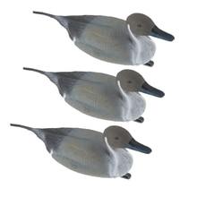 3 шт. подсадная утка реалистичные Pintail Сад Двор Scarer плавающая приманка