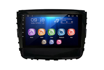 Allways 10.1 IPS Android 9.0 Octa-core 2GB + 32GB Car Multimedia for Ssangyong Tivoli / Rexton / Rodius 2019 with 2.5D Touch image
