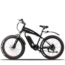 26inch Knight electrical mountain bicycle 48V lithium battery 1500w excessive velocity motor fats tire electrical bike fats ebike max 70km/h