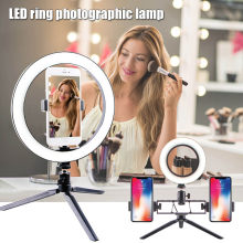 Hight Quality LED Ring Light Fill Lighting Dimmable with Tripod Stand for Phone Camera Photo Video Selfie L9 #2(China)