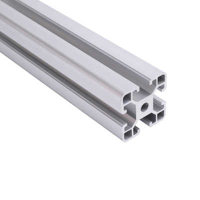 Guide Length: 600mm Linear Rails 30150 Aluminum Extrusion Profile European Standard Silver Length 600mm Industrial Aluminum Profile Workbench