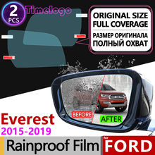 For Ford Everest 2015 2016 2017 2018 2019 2020 Trend Full Cover Anti Fog Film Rearview Mirror Anti-fog Films Accessories