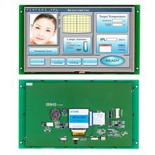 10.1 นิ้ว HMI LCD โมดูลจอแสดงผล Touch Screen & RS232 RS485 TTL UART Port STVI101WT 01