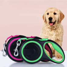 3M/5M Dog Leash Retractable Pet Harness Automatic Strong Nylon Lead For Small Medium Dogs Supplies