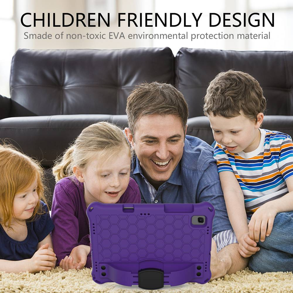 For Samsung Tab A7 10.4 SM-T500 T505 Case Kids cover for Tab S6 T860 T865 shock-proof EVA coque for Samsung Tab S5e T720 T725-2