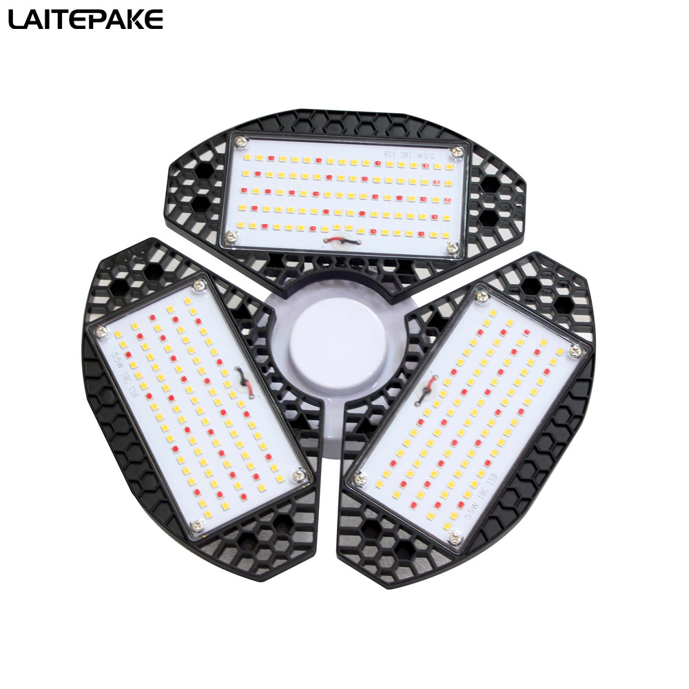 E27 135W Quantum Board Phytolamp 13750LM Led Grow Light 3 180 Degree Adjustable 3500K+450NM +660NM Grow Panel For Indoor Grow