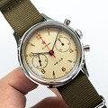 Винтажные мужские часы с Чайкой 1963  сапфировое стекло 30 м  водонепроницаемые сапфировое стекло  механический хронограф  мужские наручные ча...