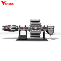 Vonado Star Wars Series EAS Agamemnon Diy Building Blocks Bricks MOC 12902 Creative Toys For Children Gifts