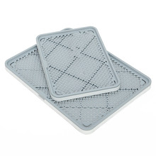 Pet Dog Toilet Grid Tray Training Dog Bed Litter Box Tray for Dogs Detachable Cat Litter Box Pet Accessories cleaning supplies