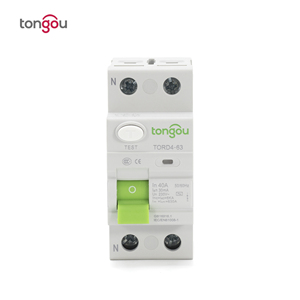 Image 2 - AC 2P 16A 10mA 30mA 6KA RCCB RCD 110V 230V Residual Current Circuit Breaker Differential Breaker Safety Switch TORD4 63
