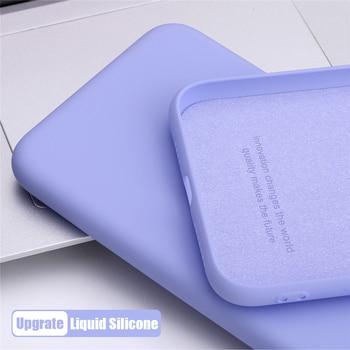 Перейти на Алиэкспресс и купить Жидкий силиконовый тонкий мягкий противоударный чехол конфетная задняя крышка для OPPO Realme Q X2 XT X Lite 5 3 Pro защитный чехол для телефона