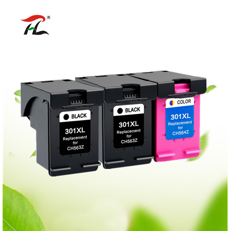 Compatible 301XL Ink Cartridge Replacement For Hp 301 Xl For Hp301 CH563EE CH564EE For Deskje 1000 1050 2000 2050 2510 3000 3054