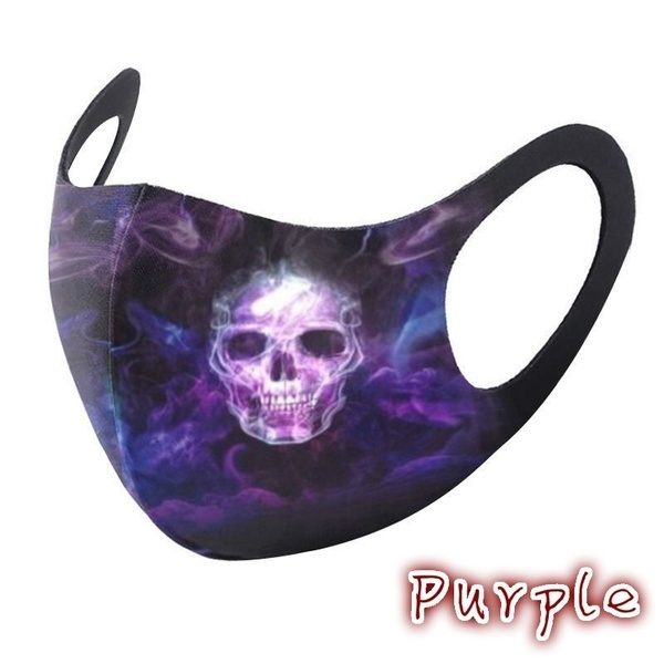 Adult face cosplay fashion cotton Halloween reusable fabric facemaks filters cosplay 2020 COSPLAY 6