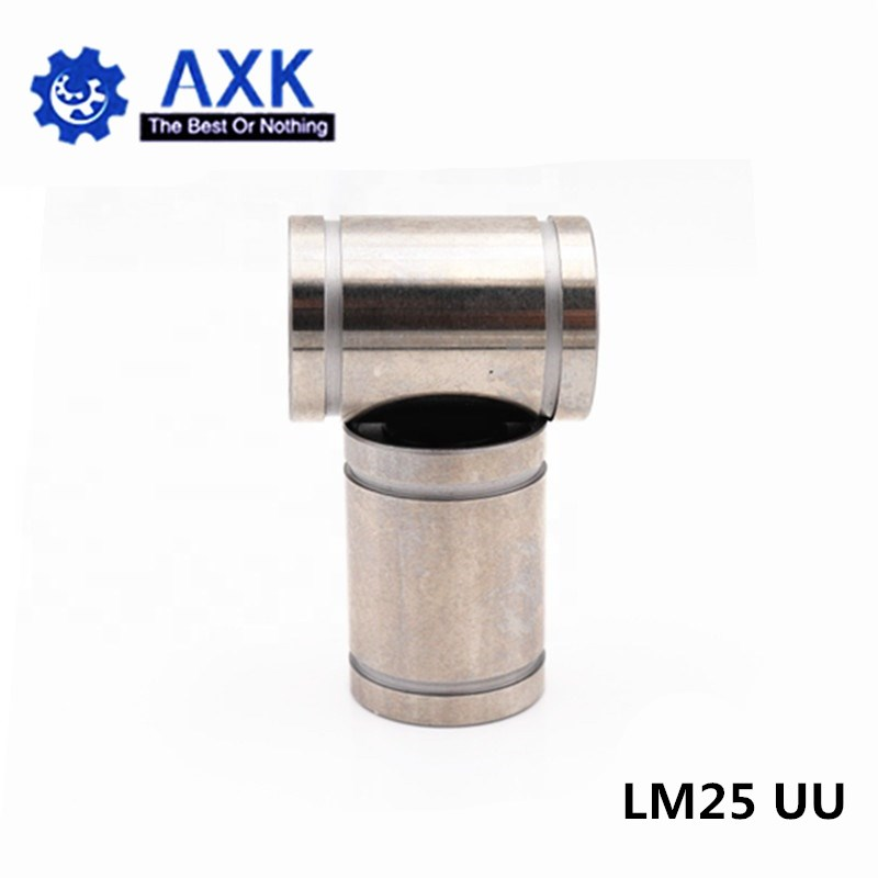 4pcs/lot Free shipping LM25UU Linear Bushing 25mm CNC Linear Bearings