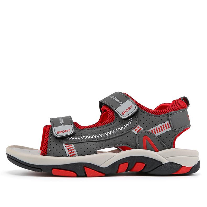 2020 Summer Boys Sandals Kid Sandals Children Shoes Cut-outs Rubber School Shoes Breathable Open Toe Casual Boy Sandal (7)