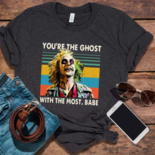 You Are The Ghost Tshirt Vintage Tops Women O-Neck Halloween 2019 Tee Korean Clothes AestheticTees Print Graphic XL