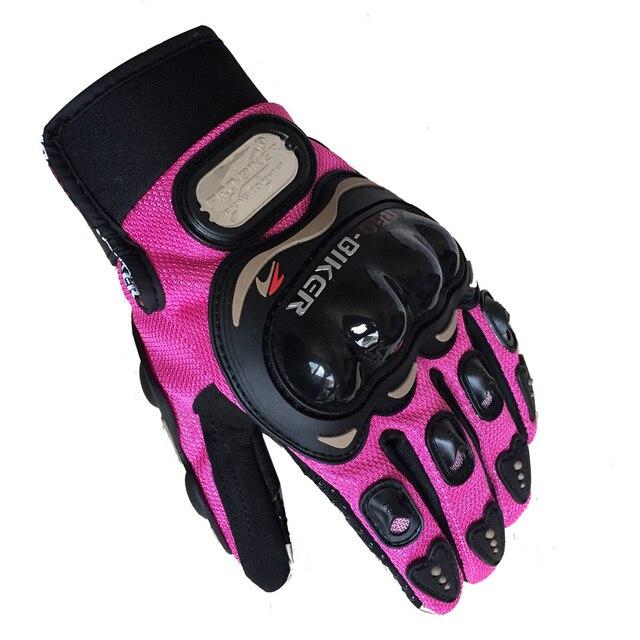Ladies Pro Biker Gloves 2
