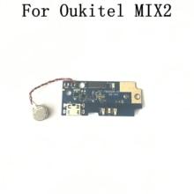 Oukitel MIX 2 Placa USB usada + Accesorios de repuesto de reparación de Motor de vibración para teléfono móvil Oukitel MIX 2