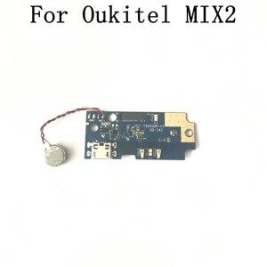 Image 1 - Oukitel MIX 2 Verwendet USB Board + Vibration Motor Reparatur Ersatz Zubehör Für Oukitel MIX 2 Handy