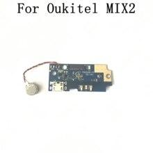 Oukitel mix 2 usado placa usb + motor de vibração, acessórios de substituição para oukitel mix 2
