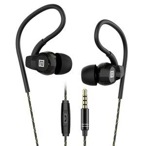 Image 1 - Langsdom Headphone Running Stereo Sport Earphone for Phone Xiaomi Super Bass Headset Hifi Earphone 3.5mm Earbuds with Microphone