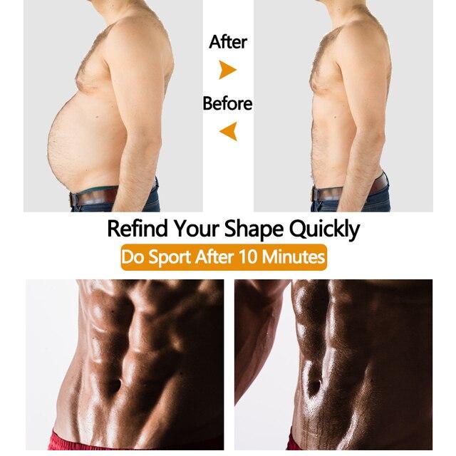 Men's Waist Trainer Weight Loss Body Shaper Belly Shapers Tummy Shapewear Abdomen Slim Girdle Promote Sweat Trimmer Belt Corset 1