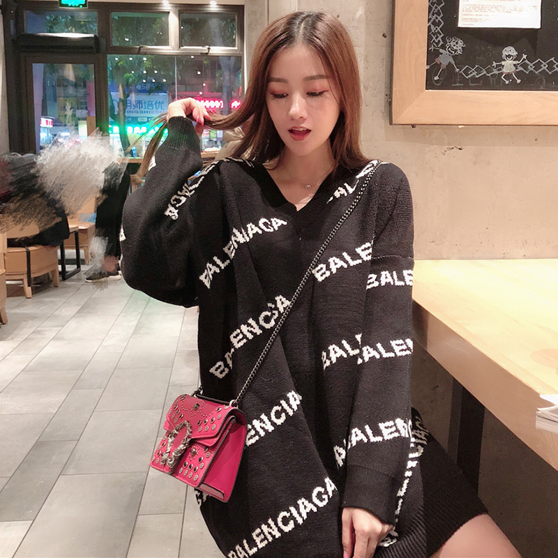 balenciaga inspired sweater dress 3 colors