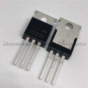 10 PÇS/LOTE NOVO C2312 2SC2312 PARA-220 6A 20V RF Transistor De Potência