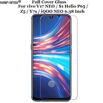 Перейти на Алиэкспресс и купить ДЛЯ vivo V17 NEO/S1 Helio P65/Z5/Y7s iQOO NEO переднее жесткое закаленное стекло 9H 2.5D Премиум Защитная пленка для экрана