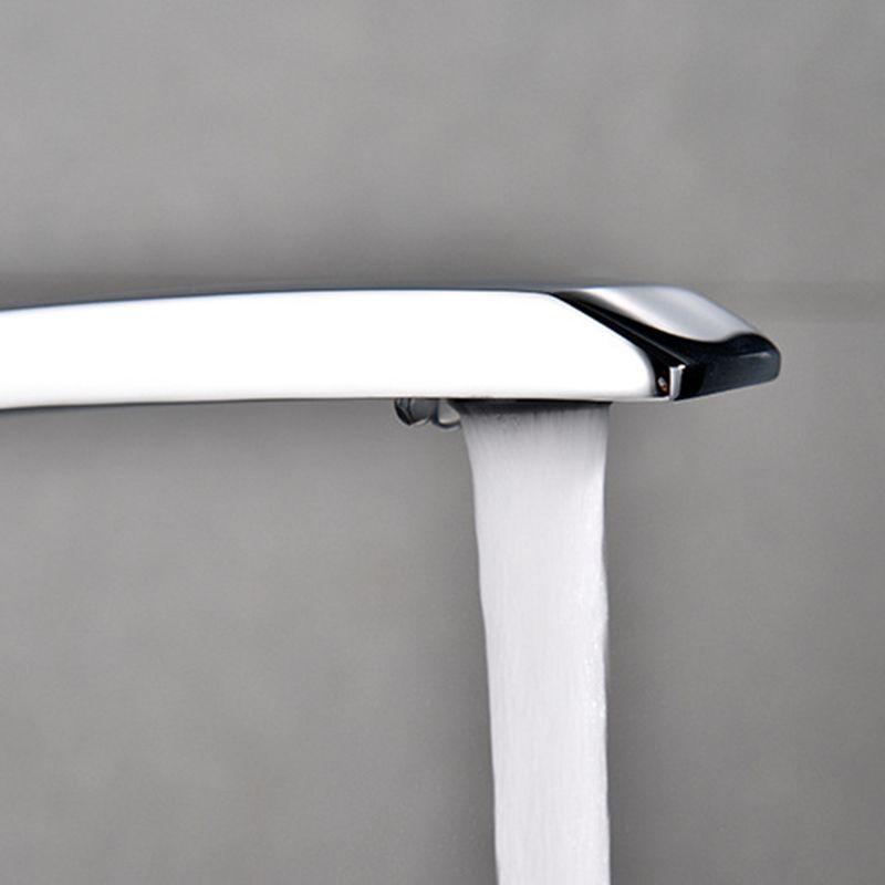 Nouveau robinet de bassin de bain en laiton Chrome robinet brosse Nickel évier mélangeur robinet vanité eau chaude froide salle de bain robinets - 3