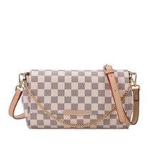 Women's Handbags Bag Luxury Fashion Chain Plaid Design Cross