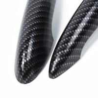 2pcs For MINI Cooper S R50 R53 R55 R56 Carbon Fiber Effect Door Handle Cover ABS Plastic high quality