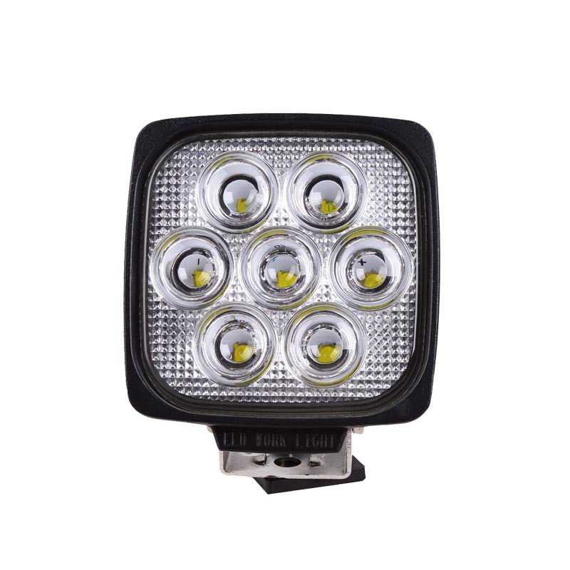 LED Square Lamp Agricultural Machinery Lighting Work Truck Light Industrial And Mining Equipment, Light Of The Ship