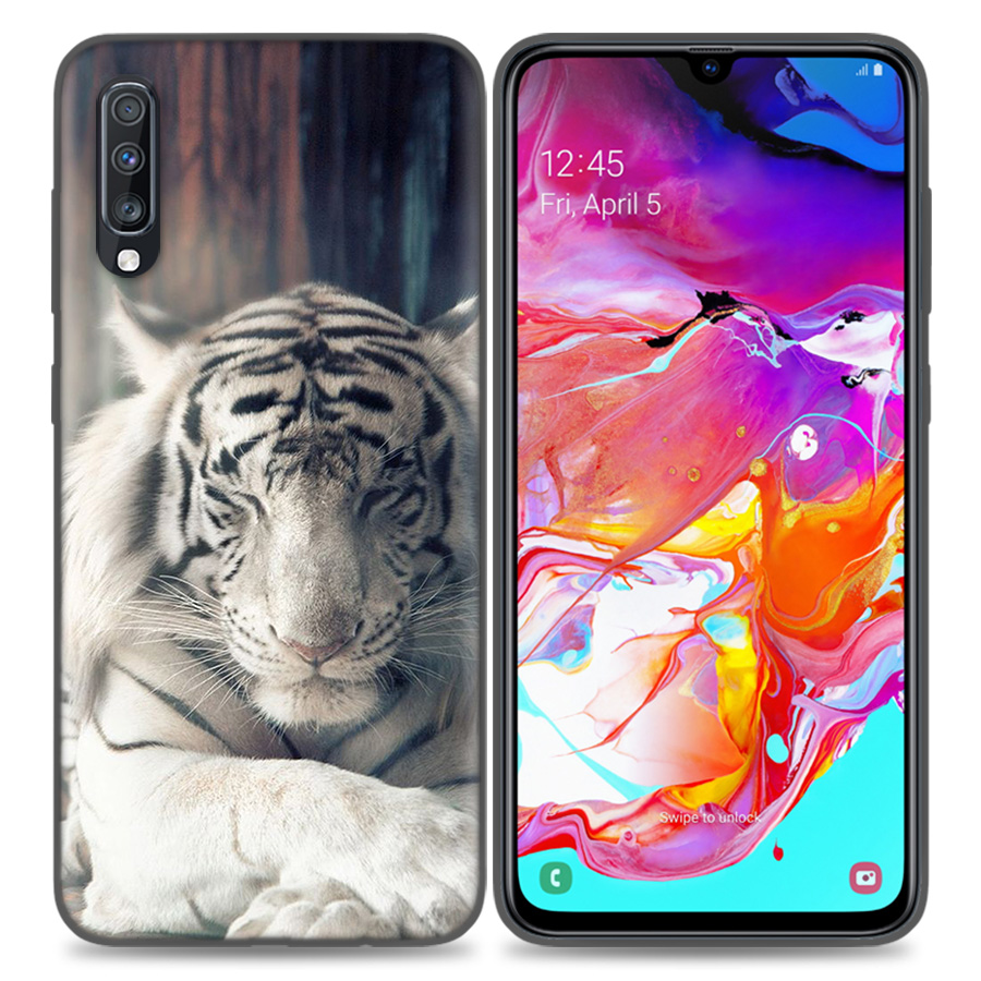 Image 4 - Silicone Case Cover For Samsung Galaxy A50 A80 A70 A40 A30 A20 A20e A10 A9 A8 A7 A6 Plus 2018 Note 10 9 8 tiger Fashion Lovely A-in Fitted Cases from Cellphones & Telecommunications