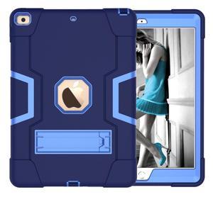 Image 3 - Nowy dla iPad 10.2 7th Gen 2019 przypadku, wytrzymała, odporna na wstrząsy Heavy Duty hybrydowy trójwarstwowy pancerz obrońca dzieci zabezpieczone przed dostępem przez dzieci pokrywa