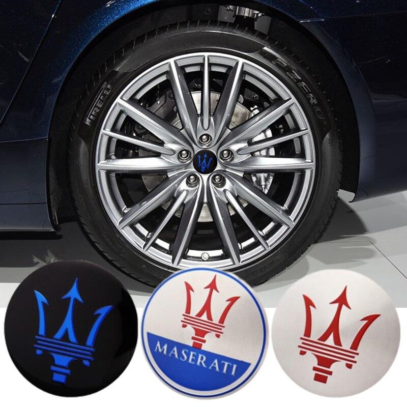 Колпак автомобильного колеса Стикеры для Maserati Ghibli Reloj Granturismo Ropa машине Quattroporte Гран Кабриолет Gransport колпак наклейка