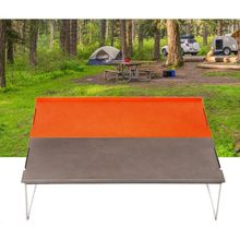 Camping Table Outdoor Mini Folding Table Mountaineering Riding Barbecue Table Color Matching Portable Aluminum Coffee Table(China)