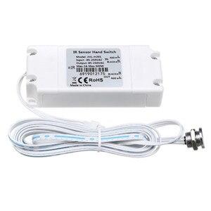 Ручной ИК-датчик движения, ручной выключатель освещения в шкафу, ручной переключатель подметания 2 м, 1 м, 30 см для домашнего шкафа, кухни