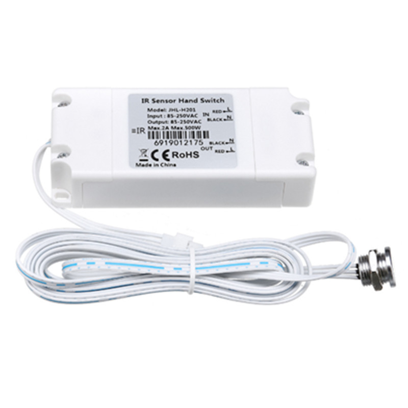 Movimento ir sensor de onda mão interruptor de luz do armário interruptor de varredura mão 2m 1m 30cm sentido para cozinha armário casa