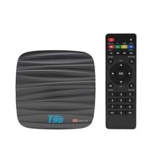 Android 8.1 Smart TV BOX T98 4GB 32GB Allwinner H6 Quad core