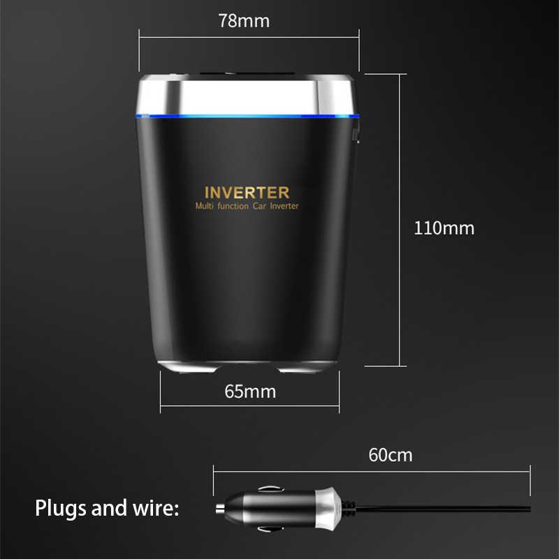 รถซ็อกเก็ตไฟแช็กSplitter 12Vรถชาร์จบุหรี่ไฟแช็กAuto Dual USB QC3.0 ชาร์จได้อย่างรวดเร็วสำหรับโทรศัพท์DVRกล้อง