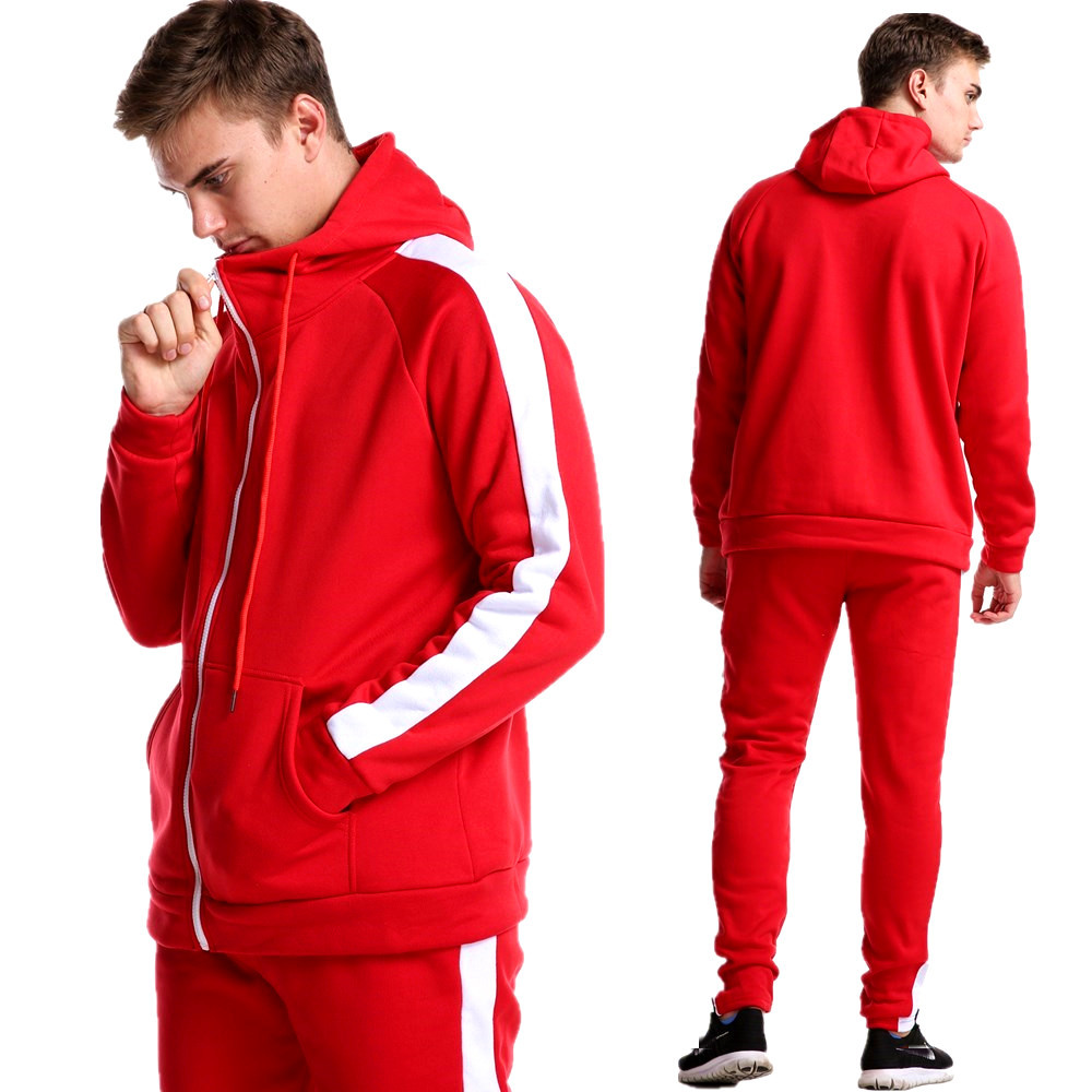 NEW Sporting Suits Mens Fashion Tracksuit Men Trainingspak Survetement Men's Sportwear Suit Hoodies Tracksuit Set Male M-XXL