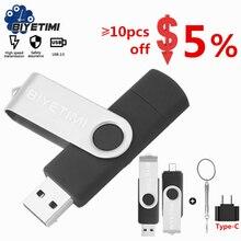 Многофункциональный USB-накопитель Biyetimi, 64 ГБ, otg 2,0, флеш-накопитель 128 ГБ, флеш-накопитель 256 ГБ, 16 ГБ, usb 128G, флеш-накопитель для телефона