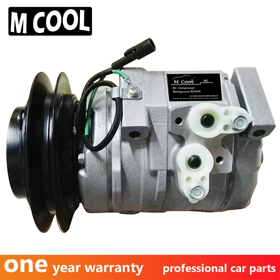 High Quality New 10S15C AC COMPRESSOR For Toyota HINO DYNA 4500 4.6L 88320-37070 8832037070 447220-3514 4472203514 24V