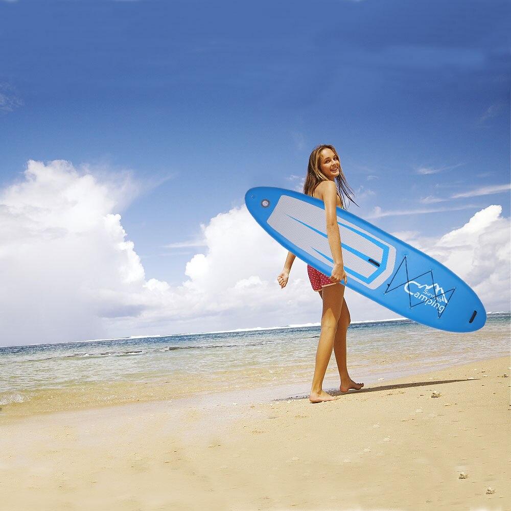 Adulte gonflable Stable SUP Stand Up Paddle Board est né pour les voyageurs de pagayage d'entrée de gamme